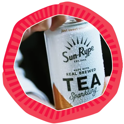 SunRype Sparkling Tea Video